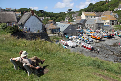 Romantic cottage holidays for 2 in Cornwall